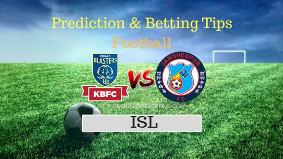 Kerala Blasters FC vs Jamshedpur FC 48th Team, Team News, Winner Prediction 4th December 2018