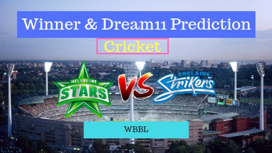 Melbourne Stars Women vs Adelaide Strikers Women 23rd T20 Team, Team News, Winner Prediction 21th December 2018