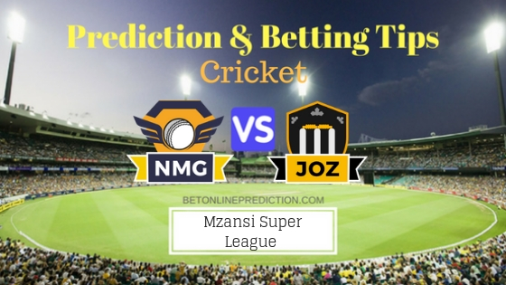 Nelson Mandela Bay Giants vs Jozi Stars 19th T20 Team, Team News, Winner Prediction 2nd December 2018