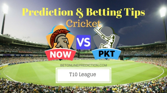 Northern Warriors vs Pakhtoons 25th T10 Team, Team News, Winner Prediction 1st December 2018