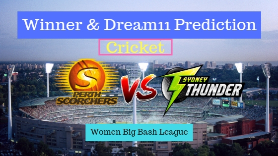 Perth Scorchers Women vs Sydney Thunder Women 33rd T20 Team, Team News, Winner Prediction 29th December 2018