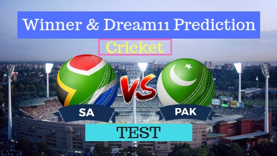 South Africa vs Pakistan 1st TEST Team, Team News, Winner Prediction 26th December 2018