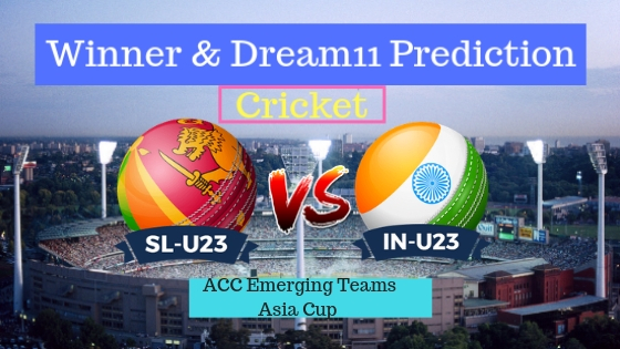 Sri Lanka U23 vs India U23 11th ODI Team, Team News, Winner Prediction 10th December 2018