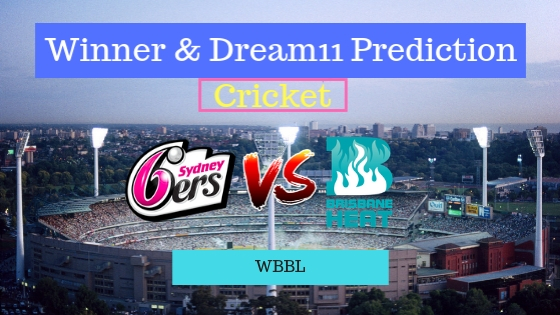 Sydney Sixers Women vs Brisbane Heat Women 24th T20 Team, Team News, Winner Prediction 22th December 2018