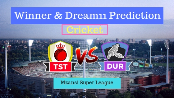 Tshwane Spartans vs Durban Heat 30th T20 Team, Team News, Winner Prediction 12th December 2018