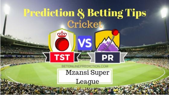 Tshwane Spartans vs Paarl Rocks 21st T20 Team, Team News, Winner Prediction 05th December 2018