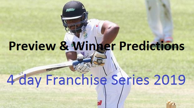 Titans vs Highveld Lions 24th Test Match 4-Day Franchise Series 2019