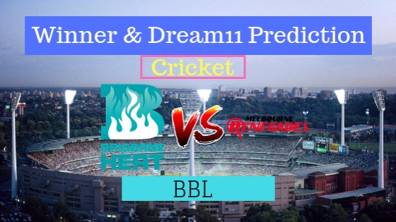 Brisbane Heat vs Melbourne Renegades 26th T20 Team, Team News, Winner Prediction 10th January 2019