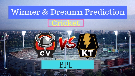 Chittagong Vikings vs Khulna Titans 11th T20 Team, Team News, Winner Prediction 12th January 2019