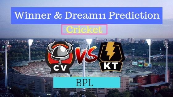 Chittagong Vikings vs Khulna Titans 22nd T20 Team, Team News, Winner Prediction 19th January 2019