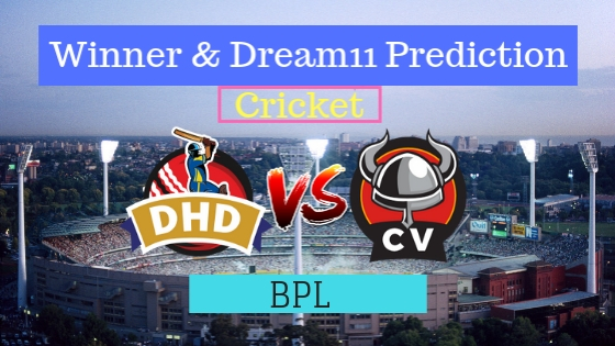 Dhaka Dynamites vs Chittagong Vikings 24th T20 Team, Team News, Winner Prediction 21th January 2019