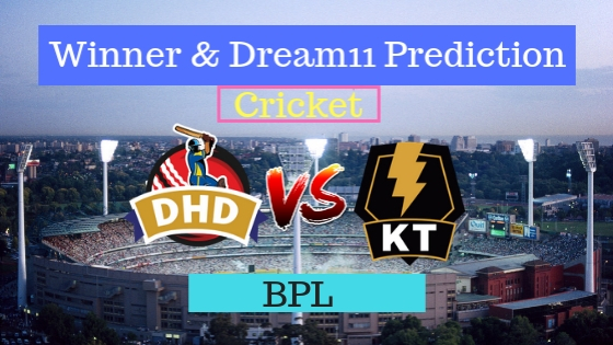 Dhaka Dynamites vs Khulna Titans 5th T20 Team, Team News, Winner Prediction 08th January 2019