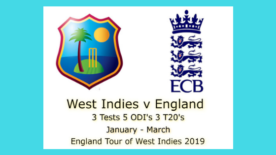 Windies vs England 2nd TEST ENG Tour WI 2019