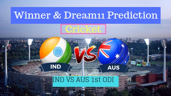 India vs Australia 1st ODI Team, Team News, Winner Prediction 12th January 2019