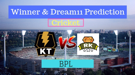 Khulna Titans vs Rajshahi Kings 15th T20 Team, Team News, Winner Prediction 15th January 2019