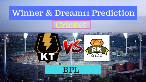 Khulna Titans vs Rajshahi Kings 8th T20 Team, Team News, Winner Prediction 09th January 2019