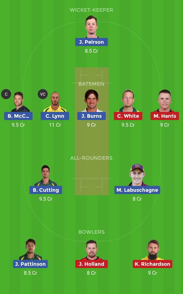 Melbourne Renegades vs Brisbane Heat 29th T20 Dream11 Team, Team News, Winner Prediction 13th January 2019