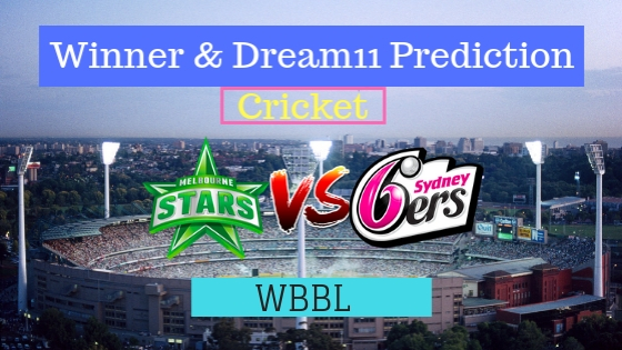 Melbourne Stars Women vs Sydney Sixers Women 56th T20 Team, Team News, Winner Prediction 14th January 2019 (1)