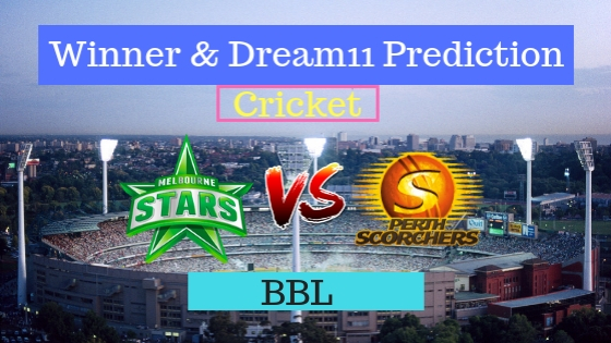 Melbourne Stars vs Perth Scorchers 25th T20 Team, Team News, Winner Prediction 09th January 2019