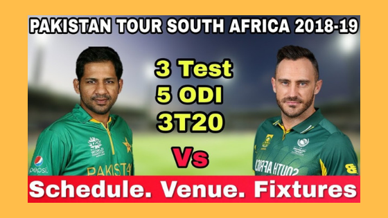 PAK Tour RSA 2019 Winner Prediction