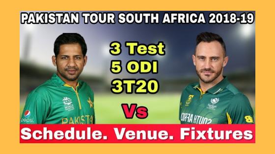 South Africa vs Pakistan 1st T20 PAK Tour RSA 2019