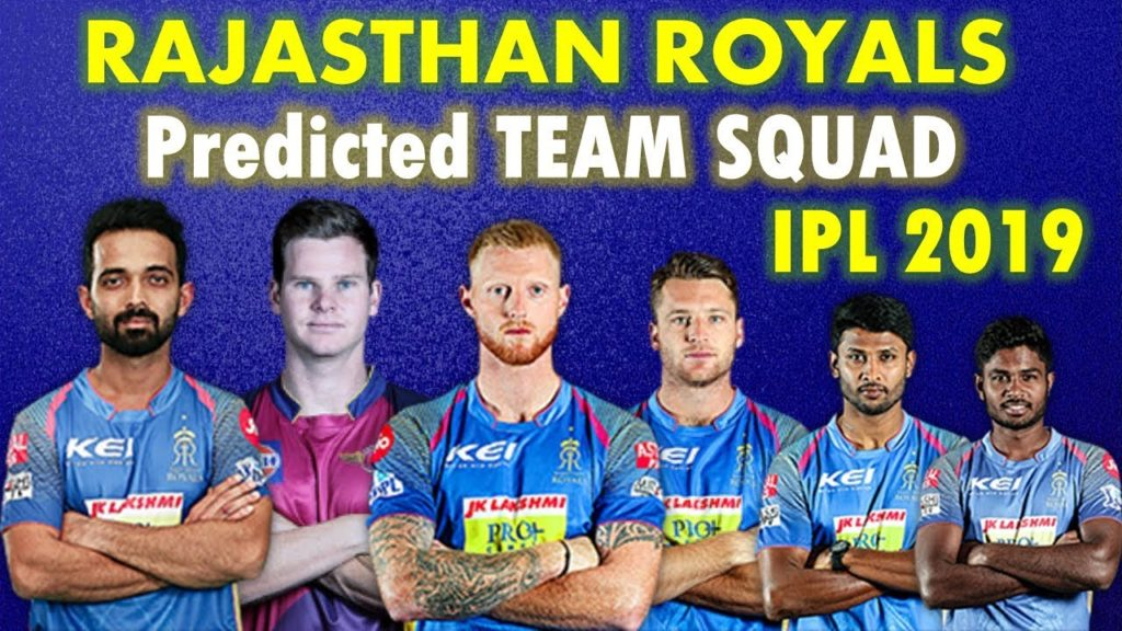 Rajasthan Royals IPL 2019 Team Squad List