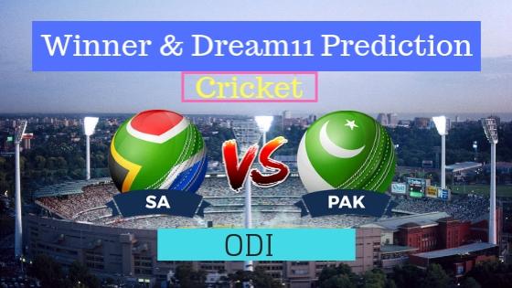 South Africa vs Pakistan 2nd ODI Match