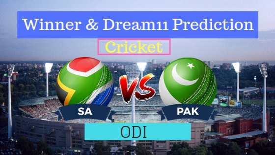 South Africa vs Pakistan 1st ODI Team, Team News, Winner Prediction 19th January 2019