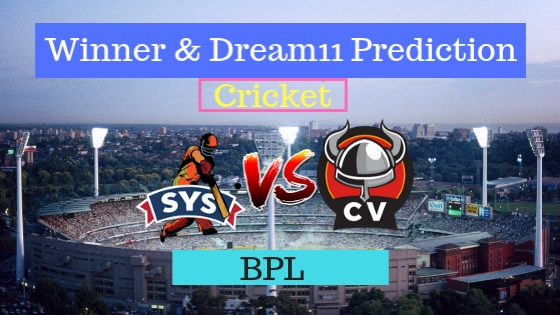 Sylhet Sixers vs Chittagong Vikings 7th T20 Team, Team News, Winner Prediction 09th January 2019