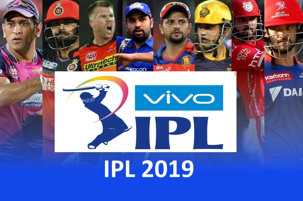 Vivo IPL 2019 Schedule Indian Premier League 2019