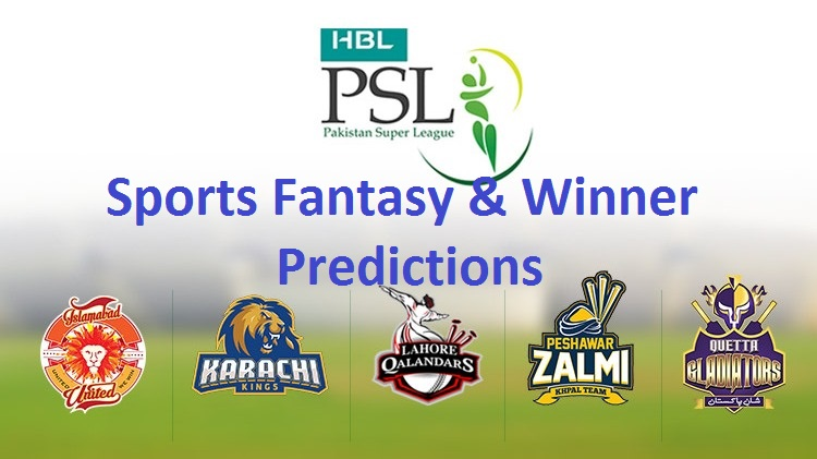 pakistan super league dream11 team winner predictions