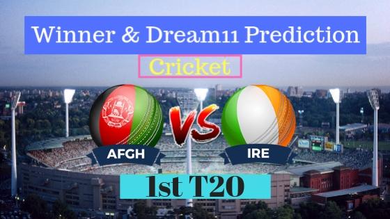 Afghanistan vs Ireland 1st T20 T20