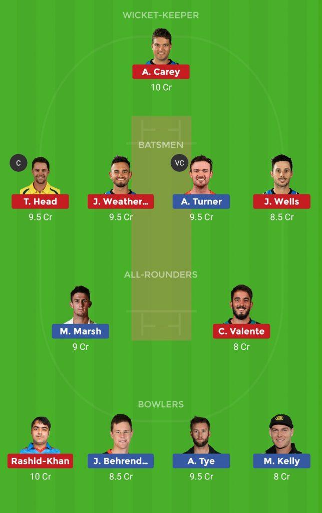 Adelaide Strikers vs Perth Scorchers 54th T20 Big Bash League 2018-19
