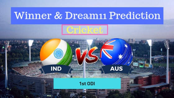 India vs Australia 1st ODI ODI