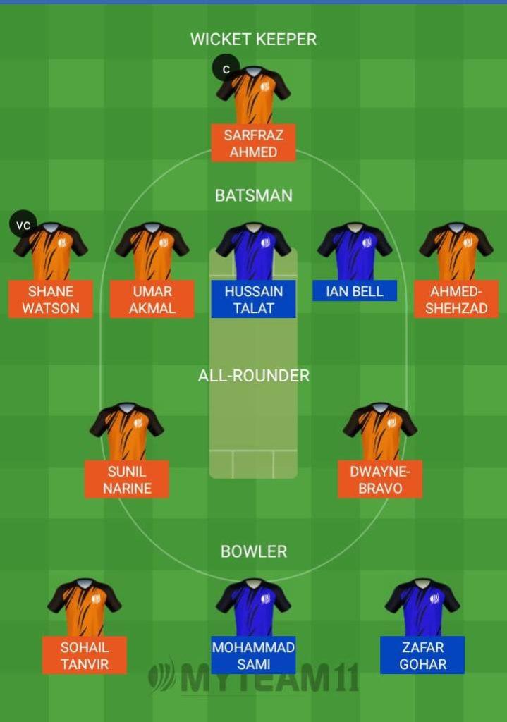 Islamabad United vs Quetta Gladiators My Team11 Fantain Prediction