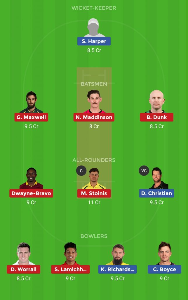 Melbourne Renegades vs Melbourne Stars Final T20 Big Bash League 2018-19