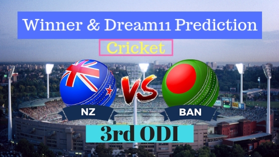 New Zealand vs Bangladesh 3rd ODI ODI