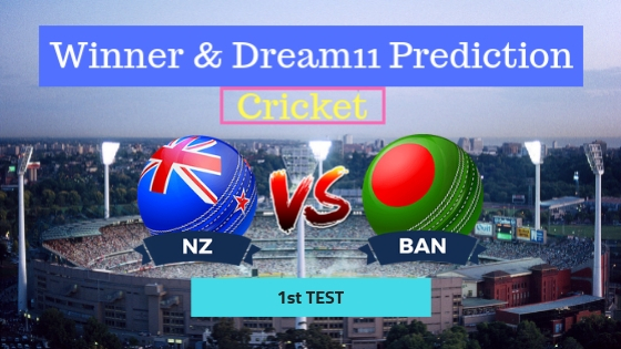 New Zealand vs Bangladesh 1st  Test