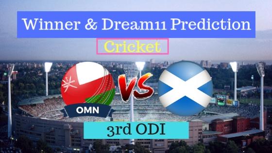 Oman vs Scotland 3rd ODI ODI