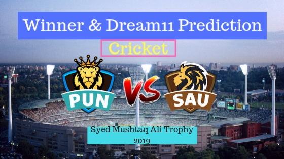 Punjab vs Saurashtra Round 3,Group C T20