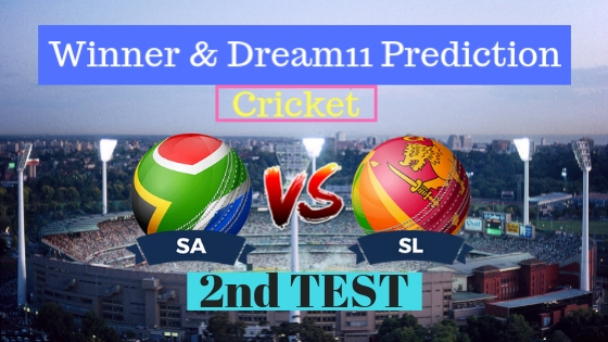 South Africa vs Sri Lanka 2nd TEST Test