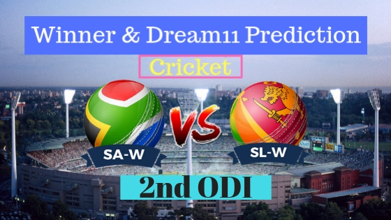 South Africa Women vs Sri Lanka Women 2nd ODI ODI