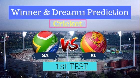 South Africa vs Sri Lanka 1st TEST Test