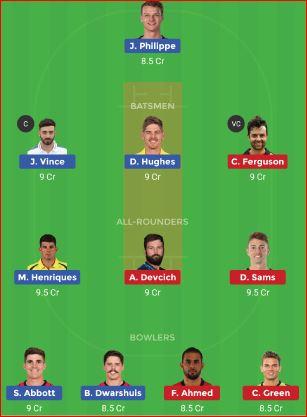 Sydney Sixers vs Sydney Thunder 49th T20 Big Bash League 2018-19