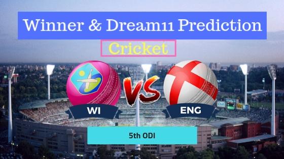 Windies vs England 5th ODI ENG Tour WI 2019