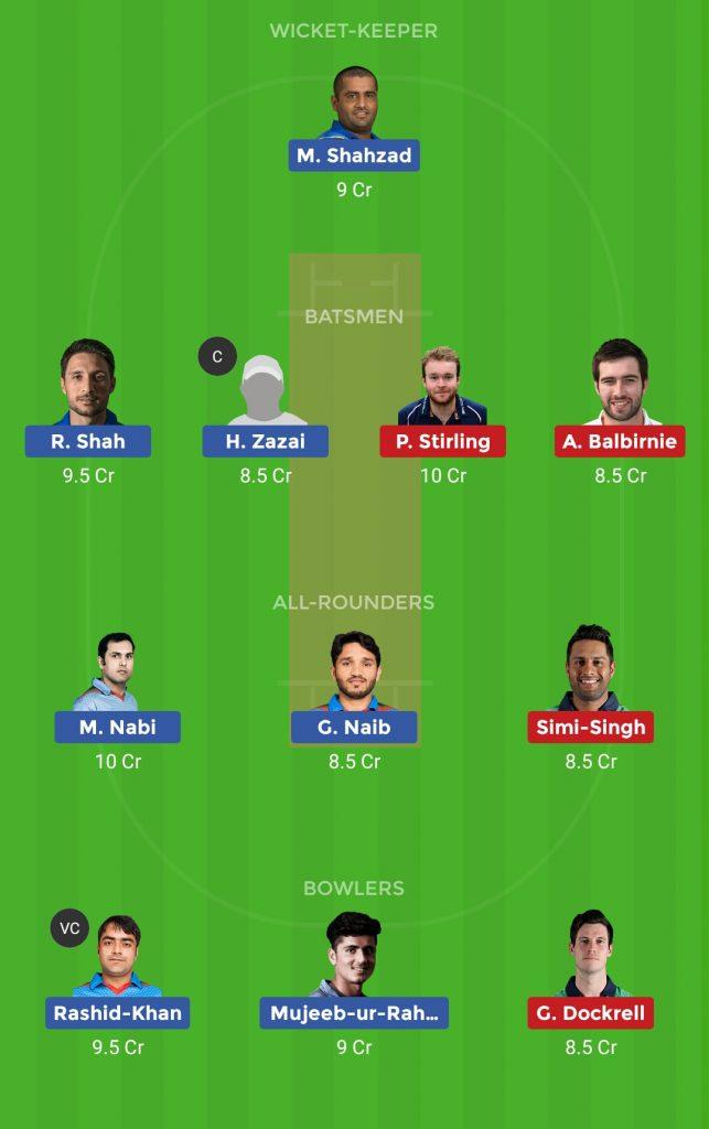 Afghanistan vs Ireland 2nd ODI ODI