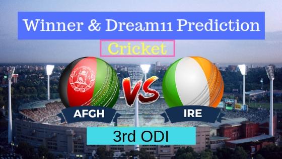 Afghanistan vs Ireland 3rd ODI ODI