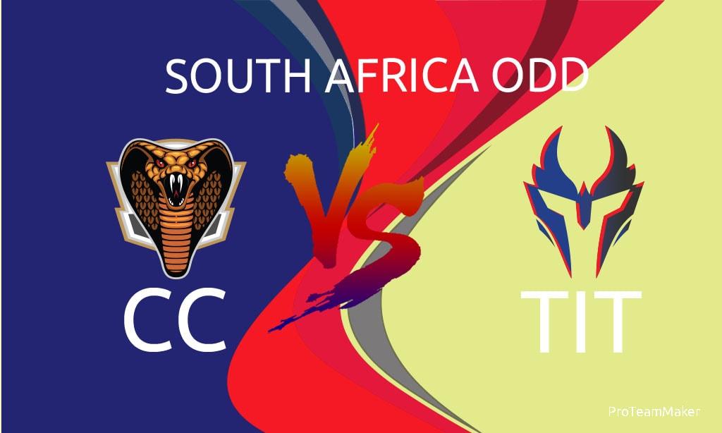 Titans vs Cape Cobras 1st Semi-Final Momentum One Day Cup