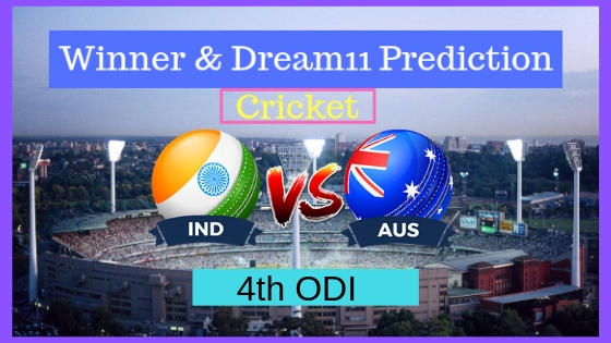 India vs Australia 4th ODI ODI