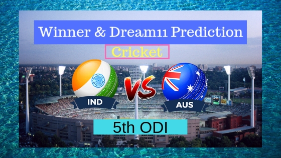 India vs Australia 5th ODI ODI
